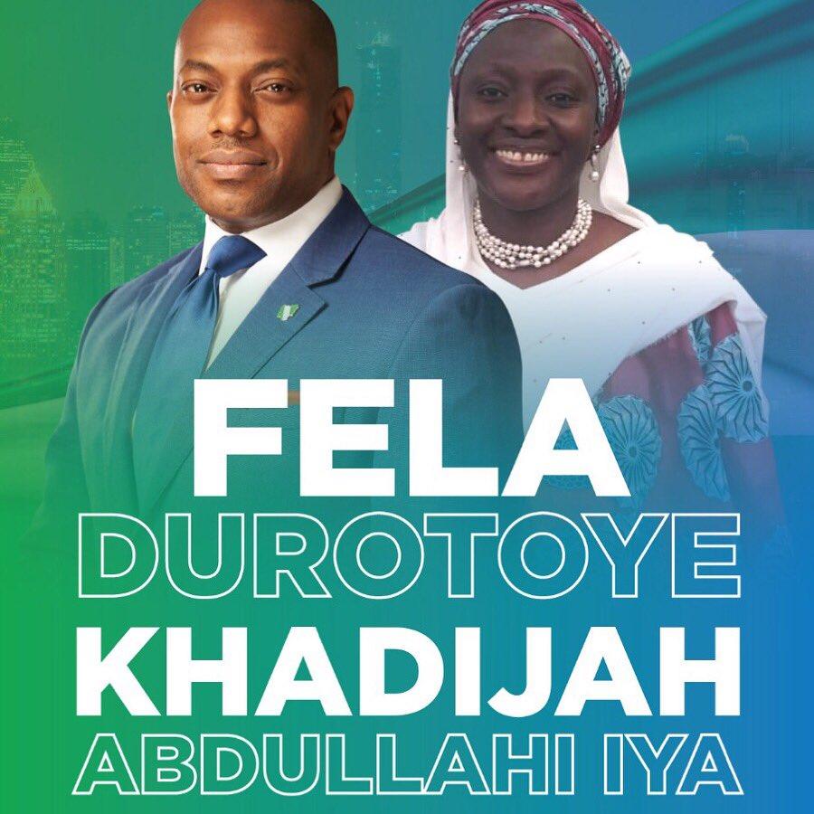 Fela Durotoye and Khadijah Abdullahi-Iya