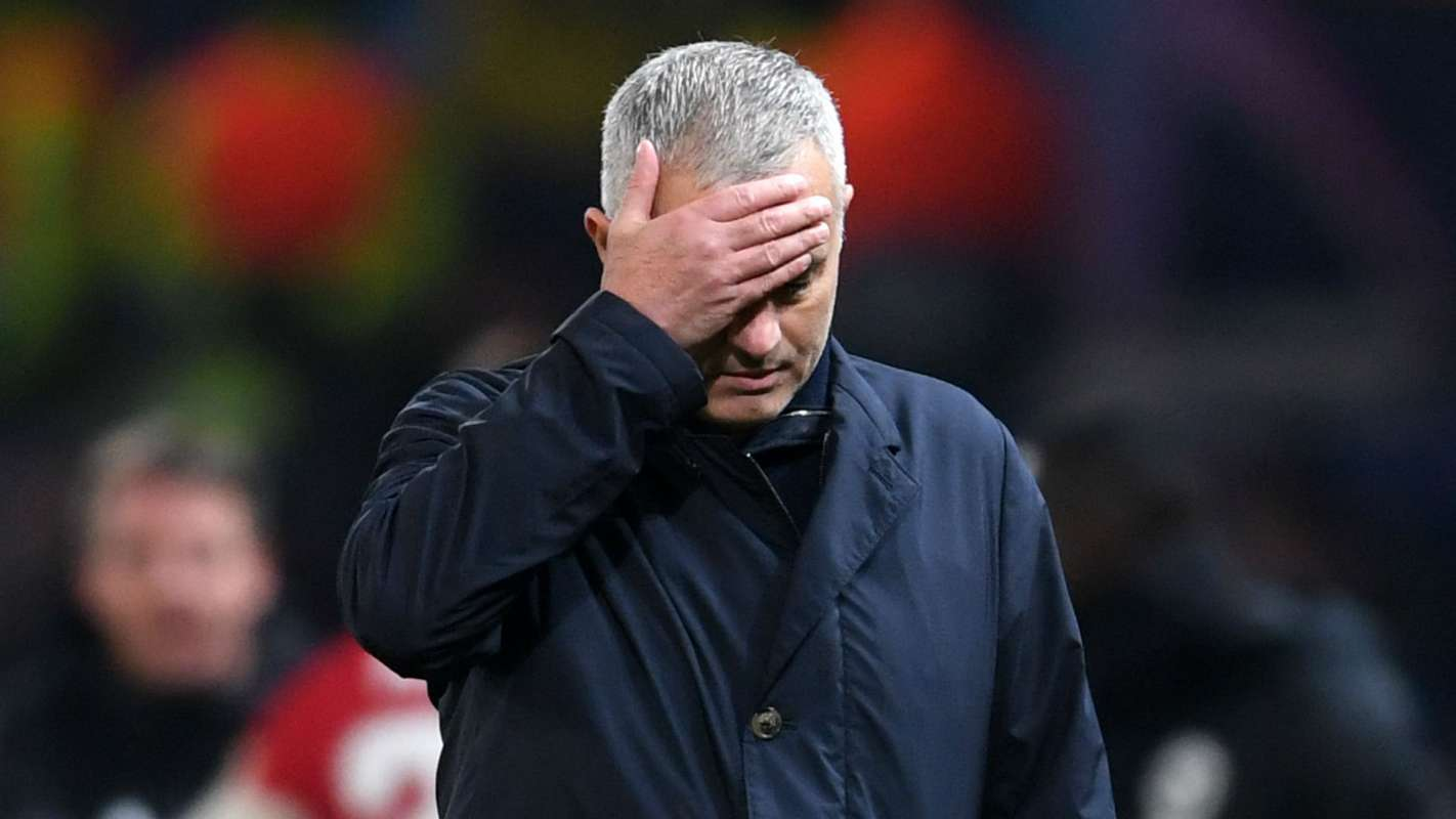 Manchester United Sacked Jose Mourinho