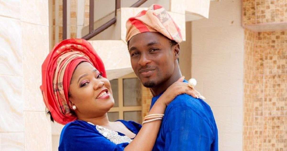 Toyin Abraham and Adeniyi Johnson