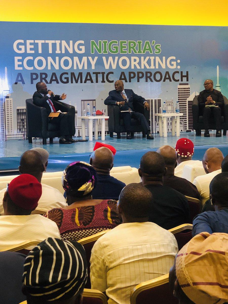 Atiku & Obi With Industry Leaders In Lagos