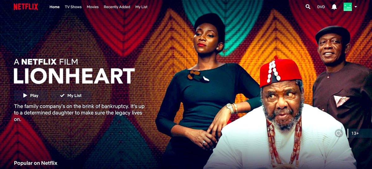 """Résultat de recherche d'images pour """"« LionHeart »  Geneviève Nnaji"""""""