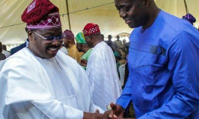 Abiola Ajimobi and Seyi Makinde