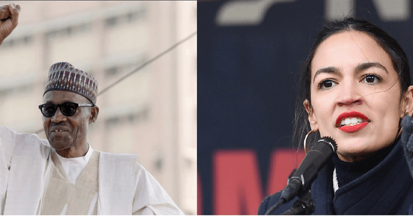Muhammadu Buhari and Alexandria Ocasio Cortez