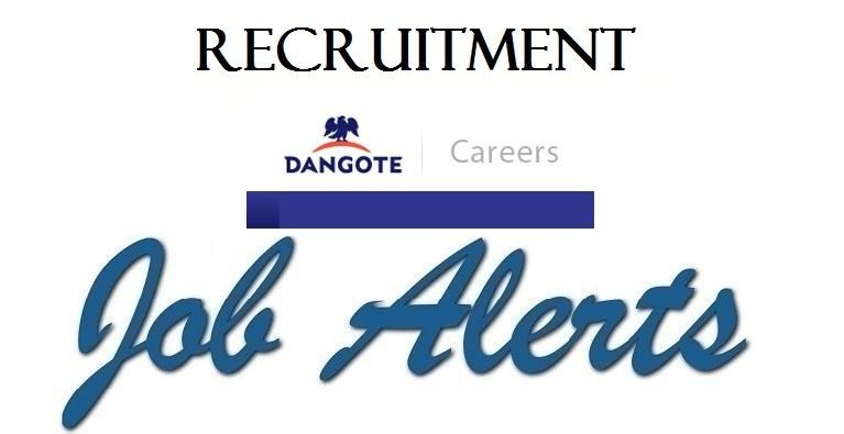 Dangote Group Is Recruitment 00