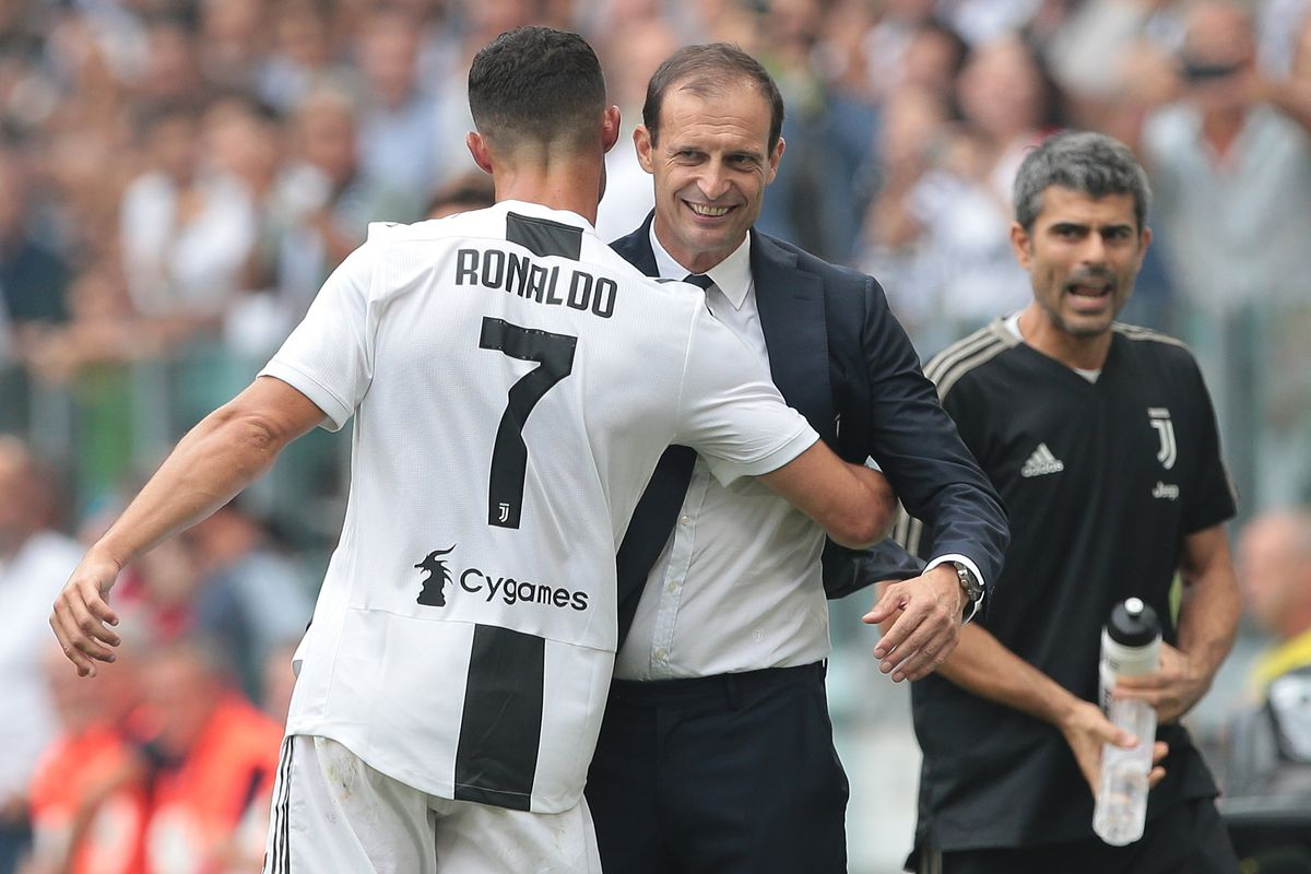 Guess Who Cristiano Ronaldo Advice Juventus Directors To Appoint As Next Manager, Following Departure of Massimiliano Allegri