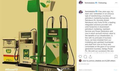 Nigerian Billionaire Femi Otedola Exits Fuel Business