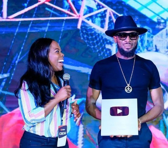 Youtube Honours D'Banj With Silver Play Button Award