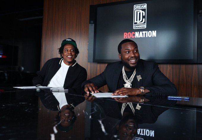 Meek Mill Launches Dream Chasers Records In Joint Venture Deal With Jay-Z Roc Nation