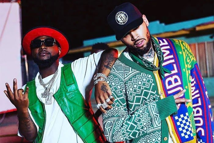 Davido and Chris Brown
