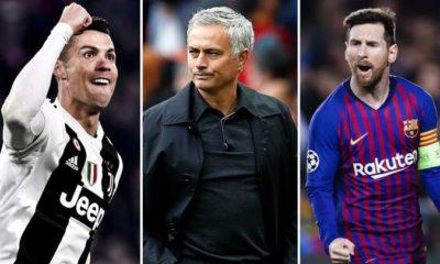 Mourinho, Ronaldo & Messil