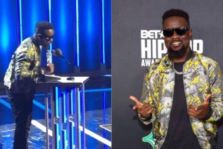 Sarkodie Wins BET Hip Hop Awards 2019