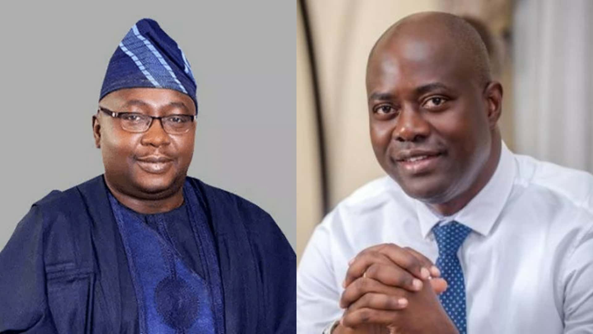 Bayo Adelabu and Seyi Makinde