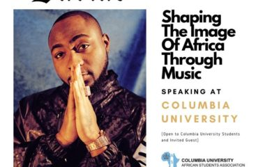 Davido Talks About Shaping The Image of Africa Through Music