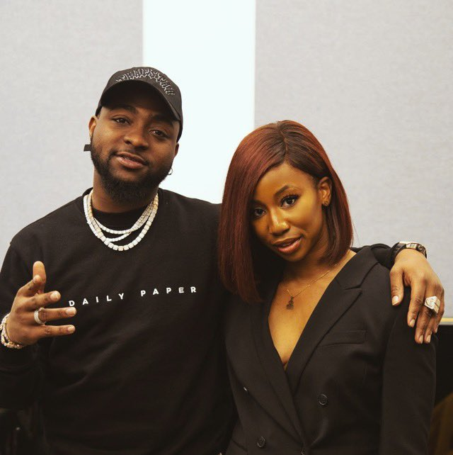Davido and Amarachi Nwosu