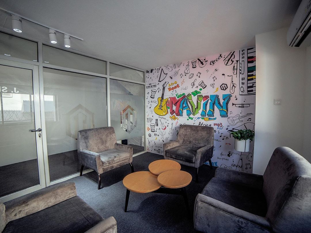 Don Jazzy Mavin Records Corporate Mansion Office 00