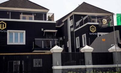 Don Jazzy Mavin Records Corporate Mansion Office In Lagos 01