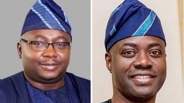 Seyi Makinde and Bayo Adelabu