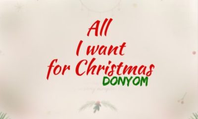 Donyom -- All I Want For Christmas EP