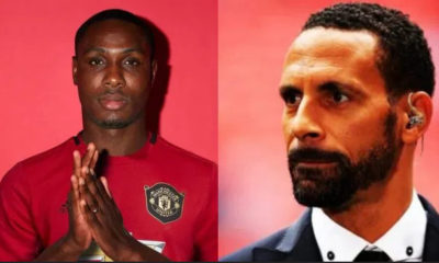 Rio Ferdinand and Odion Ighalo