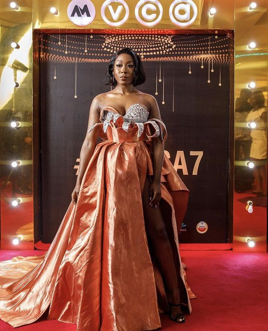 Beverly Naya at AMVCA2020 00