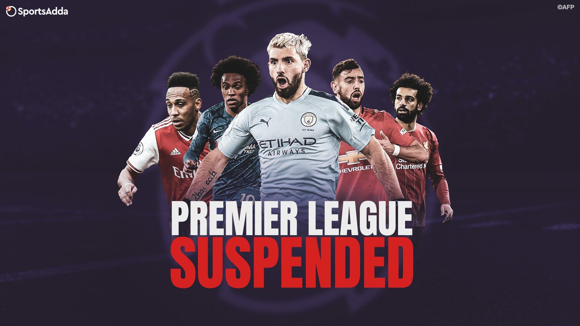 English FA Suspends Premier League Matches Due to Coronavirus Pandemic