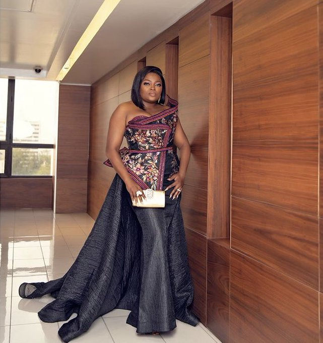 Funke Akindele-Bello at AMVCA2020