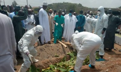 Abba Kyari Laid to Rest In Abuja