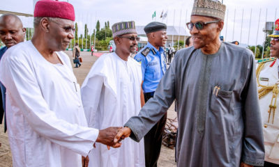 Buhari and Abba Kyari