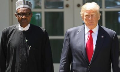 Donald Trump Speaks with Buhari