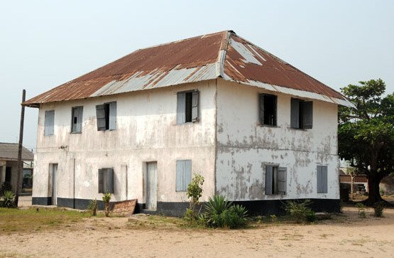The first European storey building in Nigeria