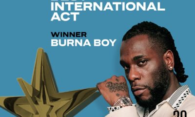 Burna Boy Wins BET Awards 2020 for Best International Act