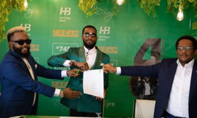 D'banj Signs Multimillionaire Endorsement with Heritage Bank 00