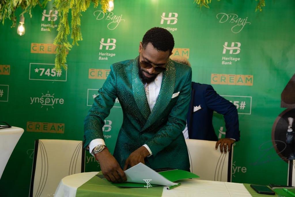 Dbanj Signs Multimillionaire Endorsement with Heritage Bank 02