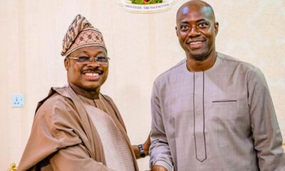 Ajimobi's Family: Abiola Ajimobi and Seyi Makinde