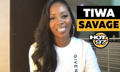 Tiwa Savage Chats with Ebro Darden