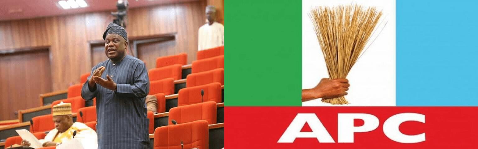 APC is not a progressive party Says Senator Buhari
