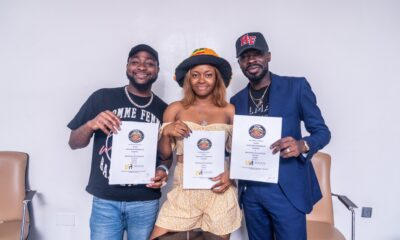 Liya Joins Davido's DMW Label