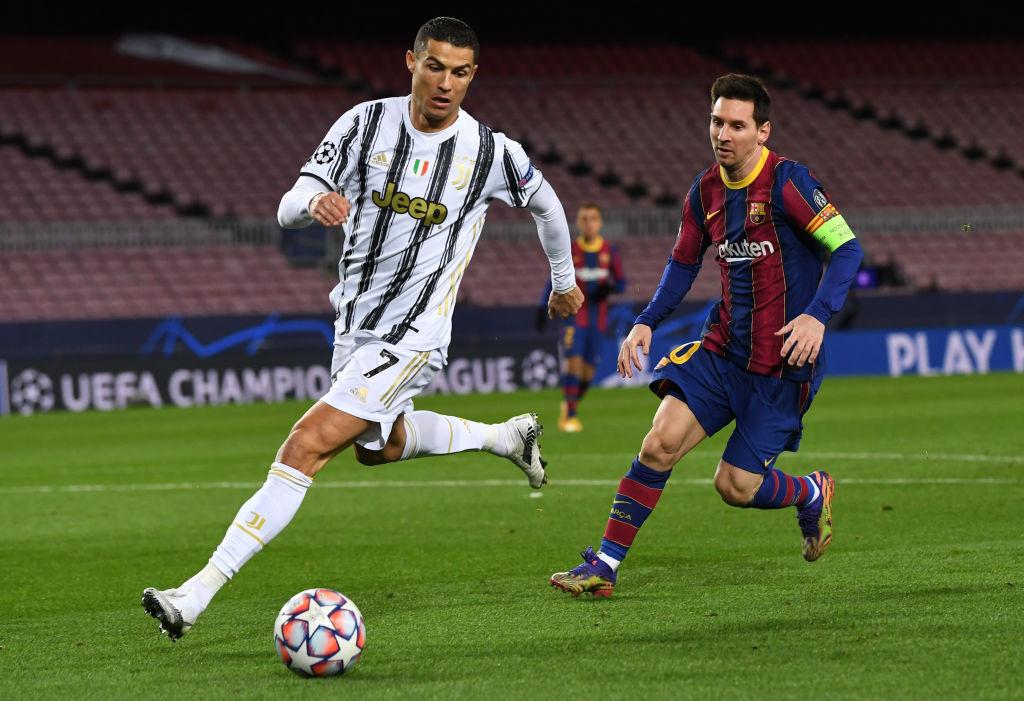 Ronaldo On Messi Rivalry