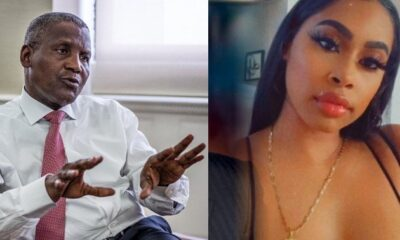 Dangote Side-Chic Drama Continues, As Another American Side Chic Releases His Semi-Nude In A Viral Video