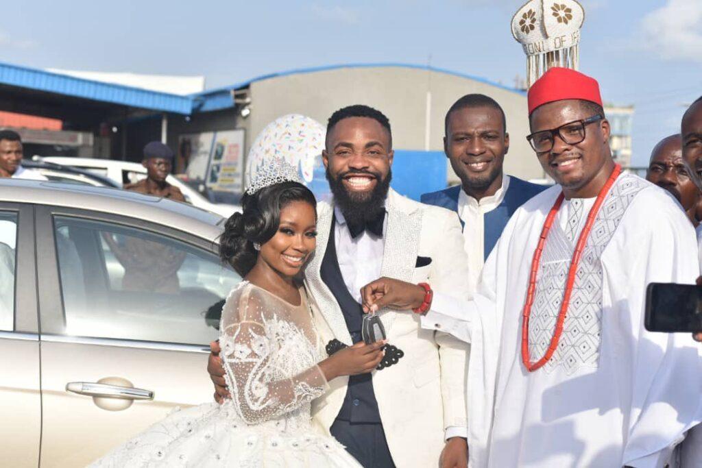 Woli Arole Wedding