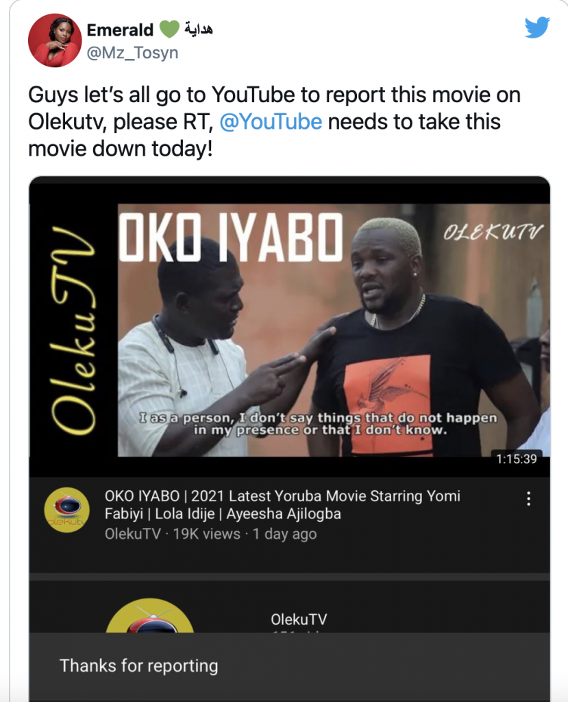 "Nigerians blast Yomi Fabiyi after releasing his new movie ""Oko Iyabo"" 02"
